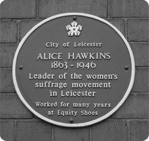 Leicester Civic Society Awards 2010 Commendations - Alice Hawkins Plaque