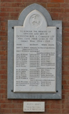 Leicester Civic Society 2016 - Donisthorpe's War Memorial